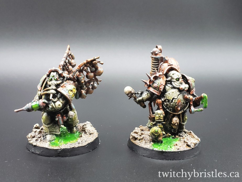 Biologus Putrifier and Foul Blightspawn
