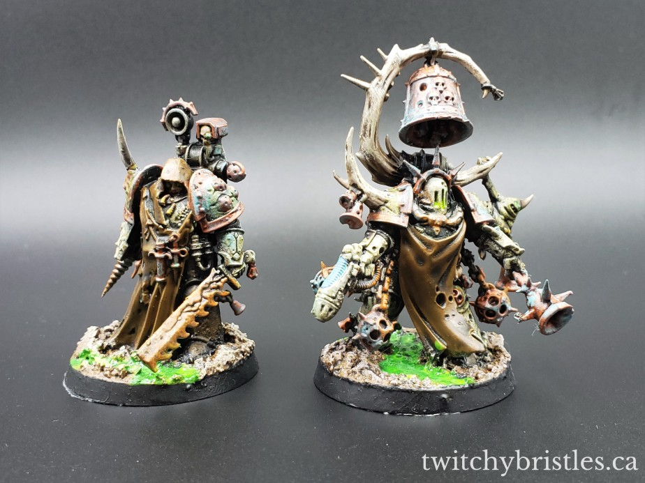 Plague Surgeon and Noxious Blightbringer