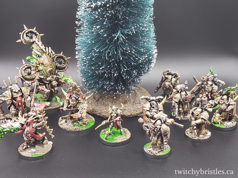 Merry Christmas from the Death Guard!